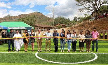 Inauguración del Parque de Fundochamba