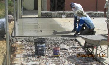 Cerramiento y Remodelación de la Cancha del Barrio La Libertad