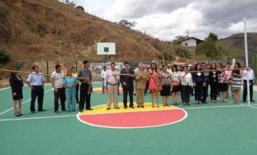 Inauguración del Cerramiento de la Cancha del Barrio La Libertad