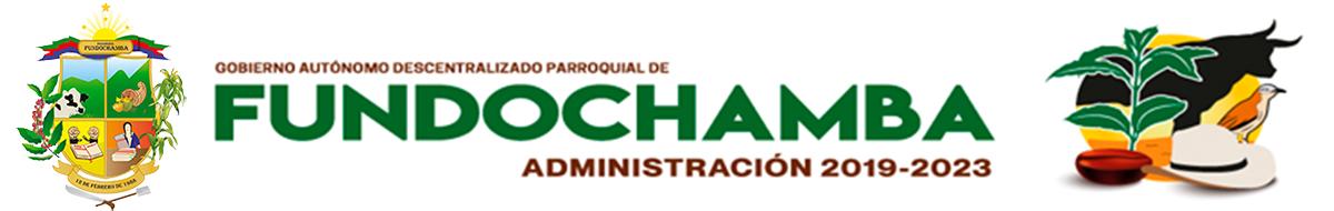 Gobierno Autónomo Descentralizado Parroquial de Fundochamba
